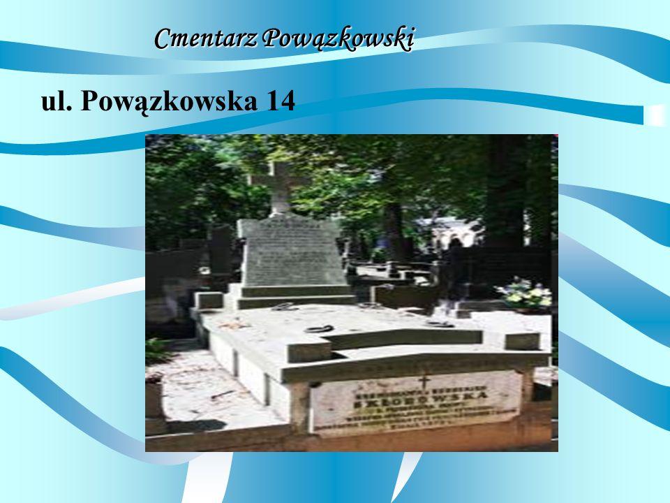 Cmentarz Powązkowski ul. Powązkowska 14