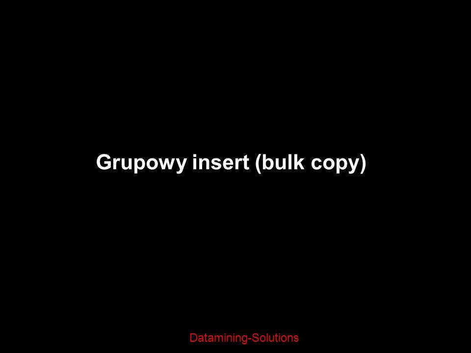 Grupowy insert (bulk copy)