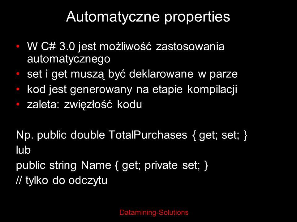 Automatyczne properties