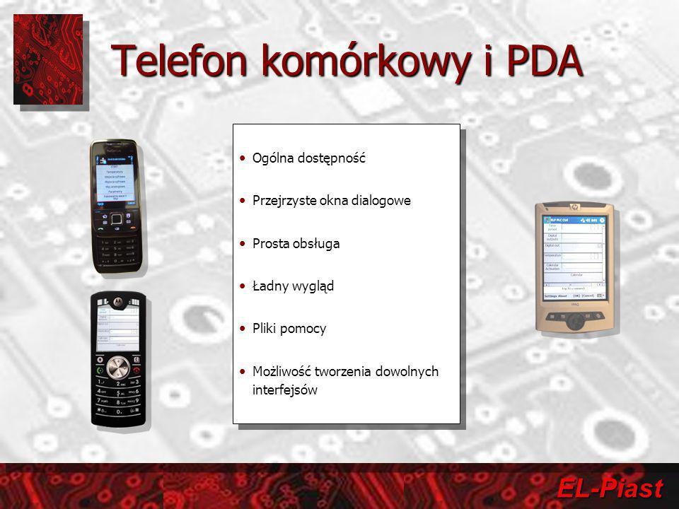 Telefon komórkowy i PDA