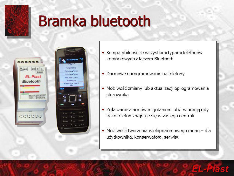 Bramka bluetooth Kompatybilność ze wszystkimi typami telefonów komórkowych z łączem Bluetooth. Darmowe oprogramowanie na telefony.
