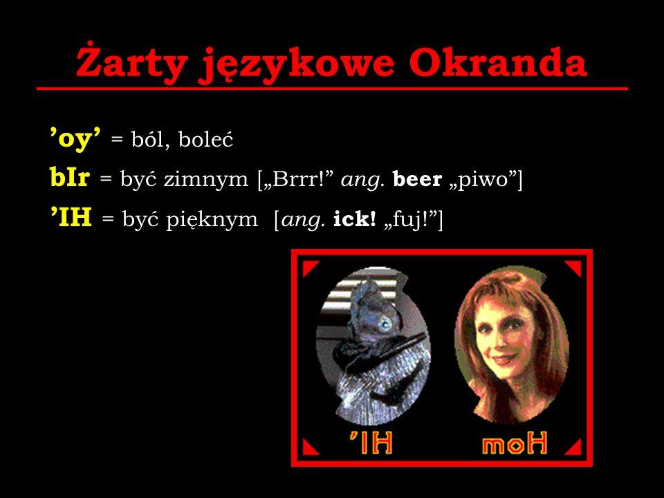 Żarty językowe Okranda