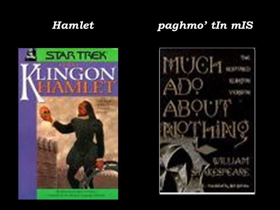 Hamlet paghmo' tIn mIS