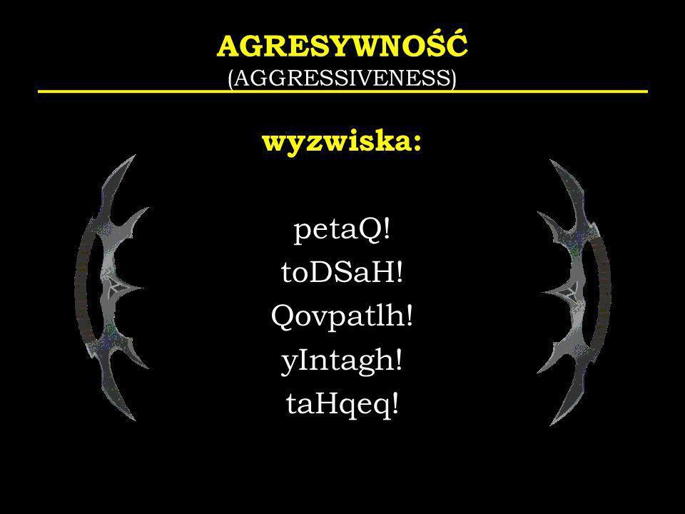 AGRESYWNOŚĆ (AGGRESSIVENESS)