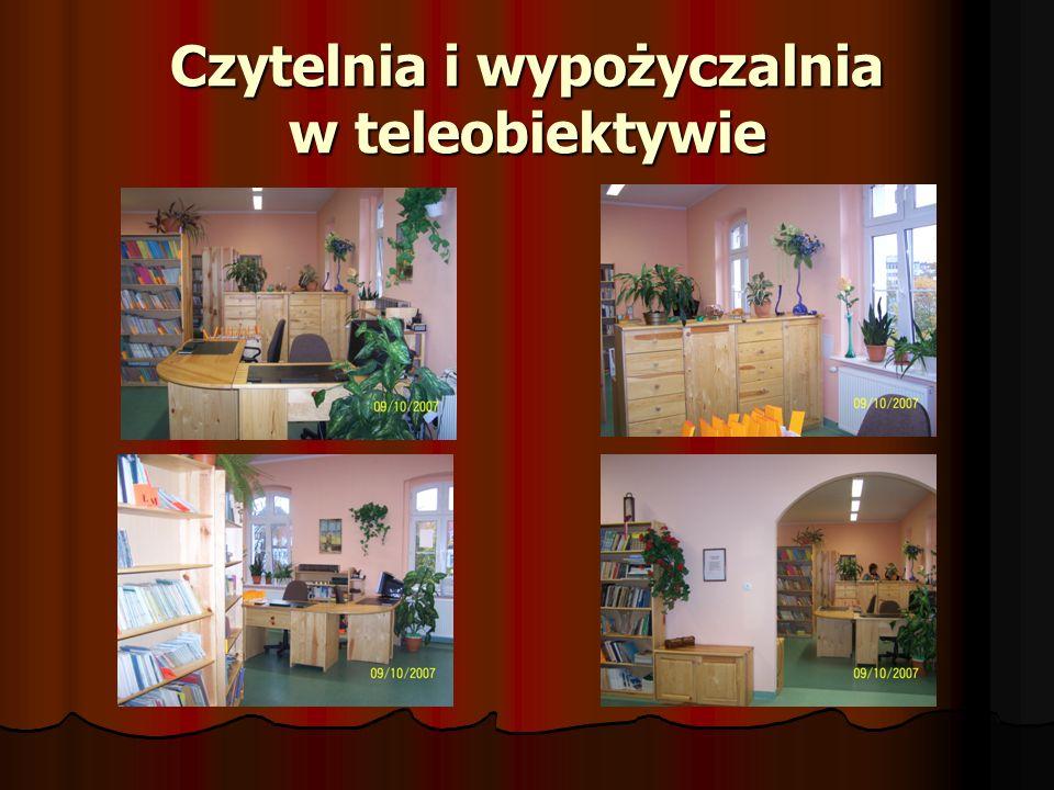 Czytelnia i wypożyczalnia w teleobiektywie
