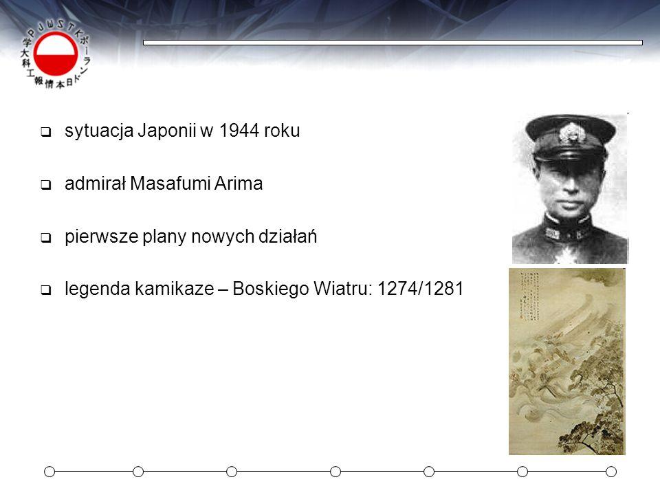 sytuacja Japonii w 1944 roku