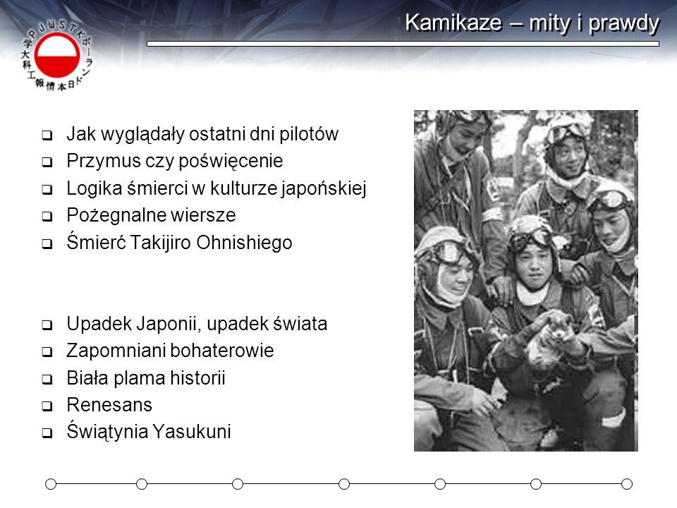 Kamikaze – mity i prawdy
