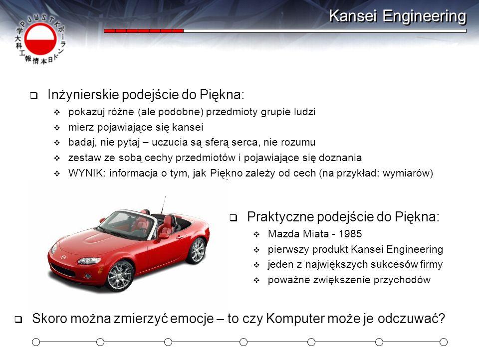 Kansei Engineering Inżynierskie podejście do Piękna: