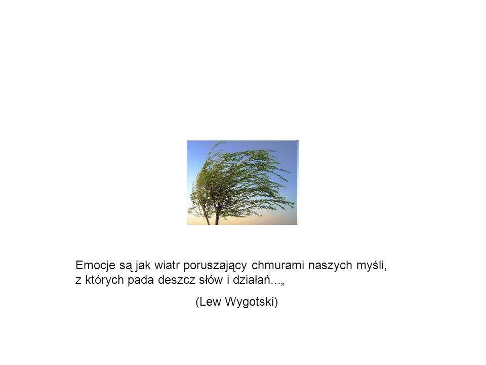 """Emocje są jak wiatr poruszający chmurami naszych myśli, z których pada deszcz słów i działań..."""""""