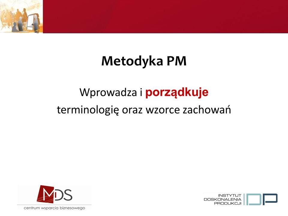 Metodyka PM System = jeśli coś usuniesz nie musi działać!