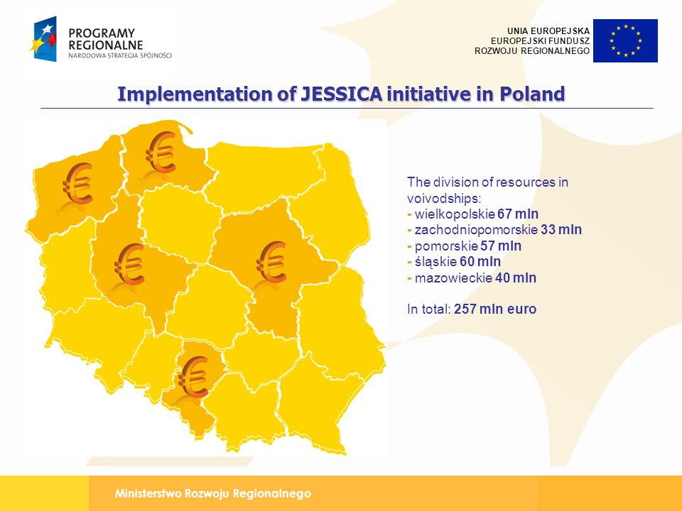 Implementation of JESSICA initiative in Poland