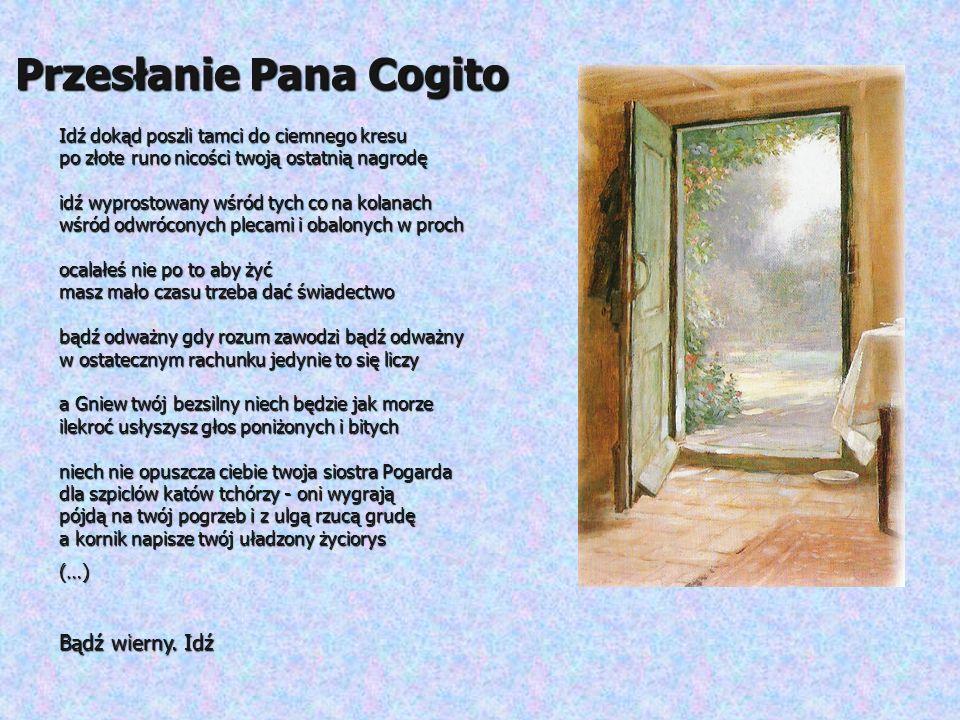 Przesłanie Pana Cogito