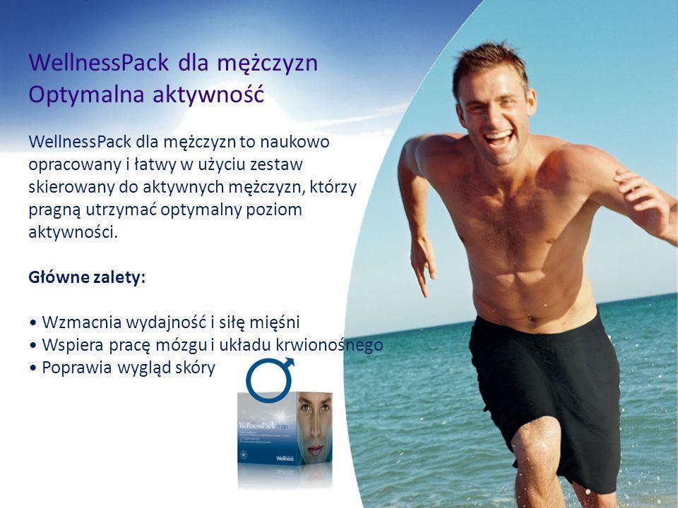 WellnessPack dla mężczyzn Optymalna aktywność