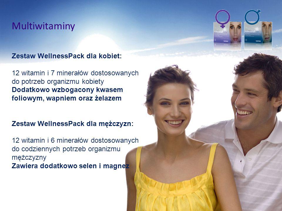 Multiwitaminy Zestaw WellnessPack dla kobiet: