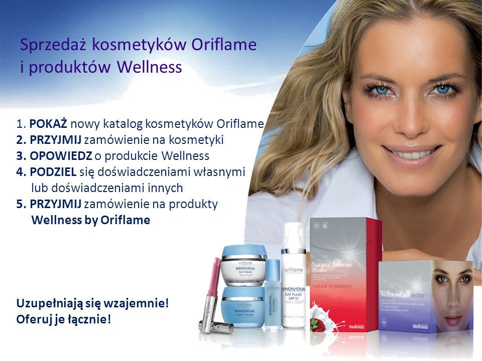 Sprzedaż kosmetyków Oriflame i produktów Wellness