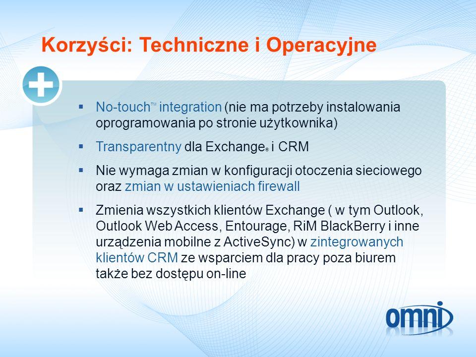 Korzyści: Techniczne i Operacyjne