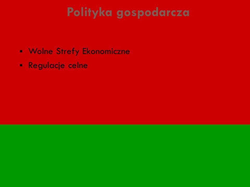 Polityka gospodarcza Wolne Strefy Ekonomiczne Regulacje celne