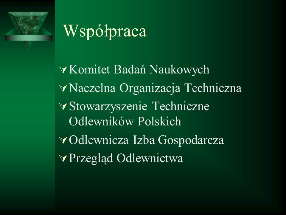 Współpraca Komitet Badań Naukowych Naczelna Organizacja Techniczna