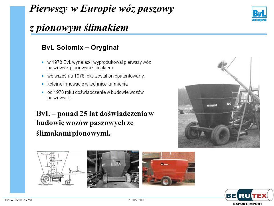 Pierwszy w Europie wóz paszowy z pionowym ślimakiem