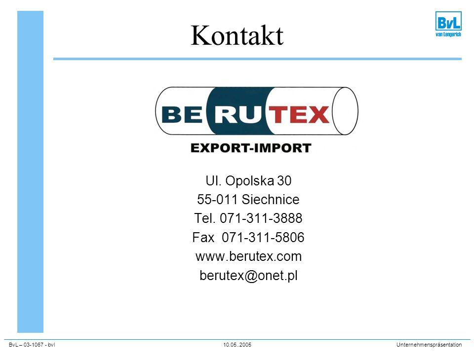 Kontakt Ul. Opolska 30 55-011 Siechnice Tel. 071-311-3888