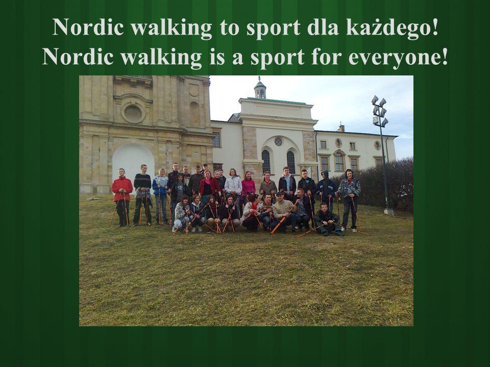 Nordic walking to sport dla każdego