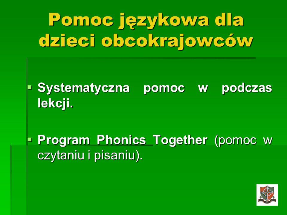 Pomoc językowa dla dzieci obcokrajowców