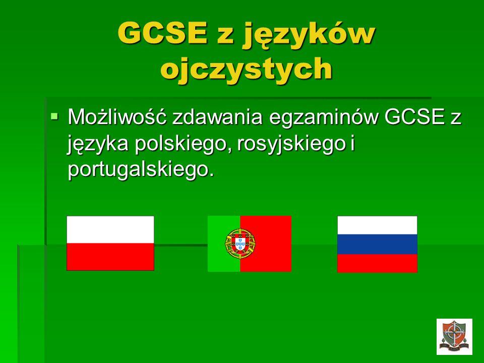 GCSE z języków ojczystych
