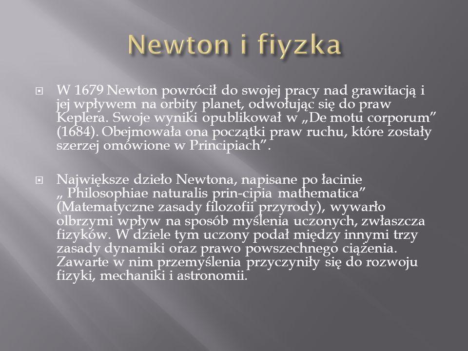 Newton i fiyzka