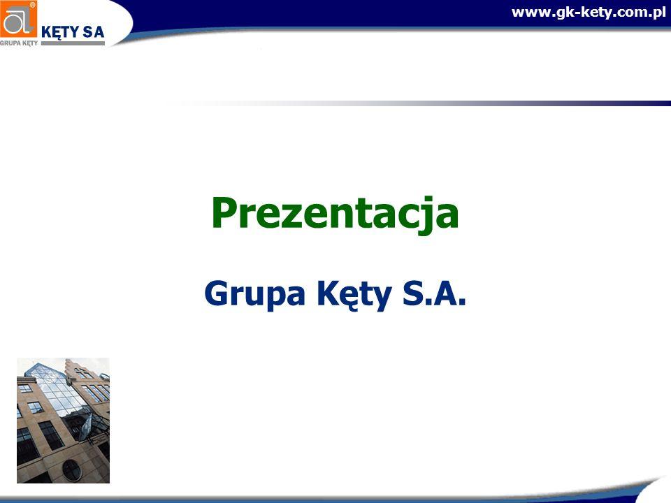 Prezentacja Grupa Kęty S.A.