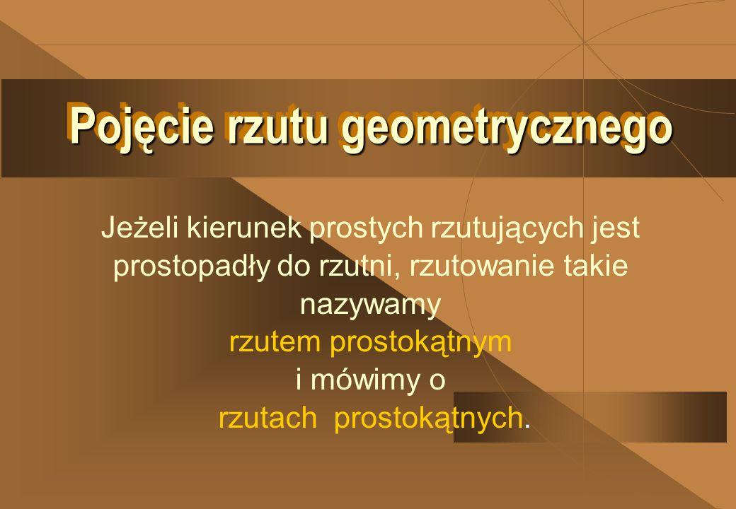 Pojęcie rzutu geometrycznego