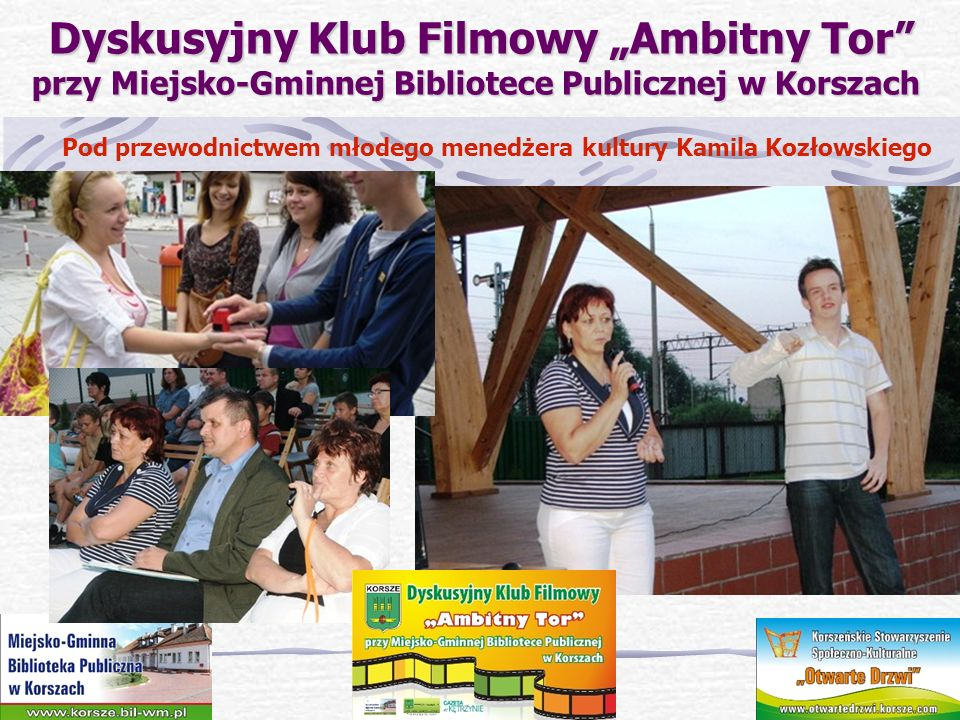 Pod przewodnictwem młodego menedżera kultury Kamila Kozłowskiego