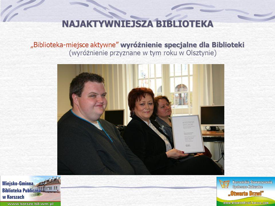 NAJAKTYWNIEJSZA BIBLIOTEKA