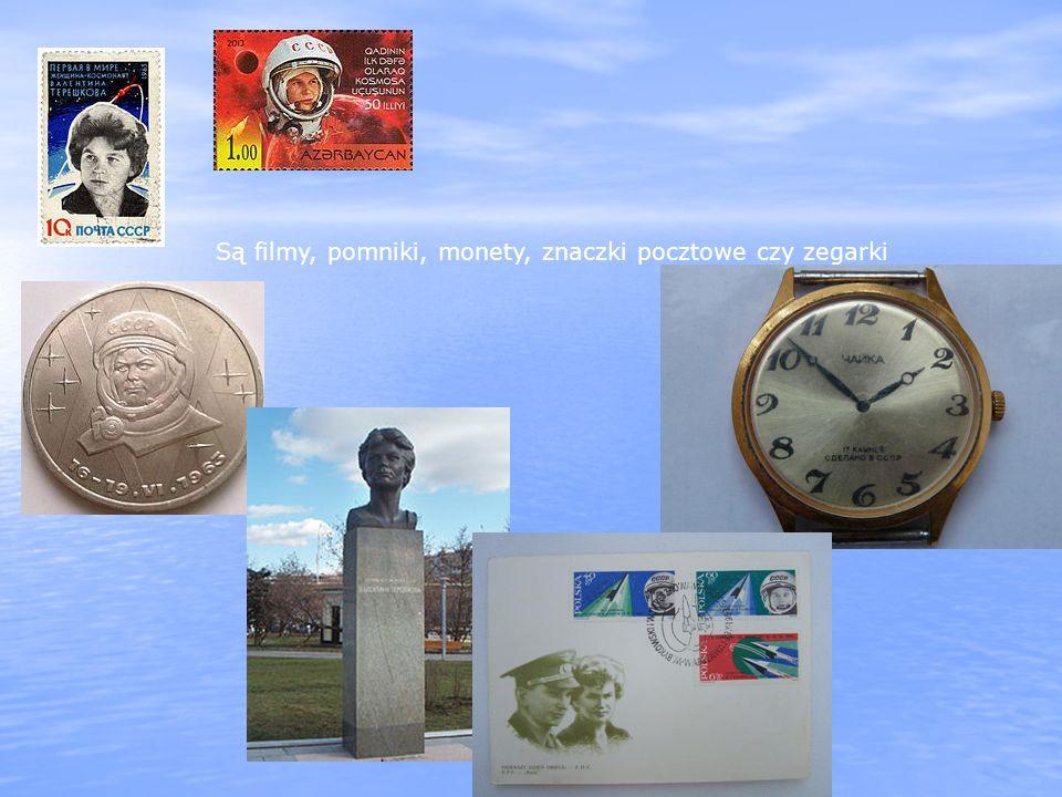 Są filmy, pomniki, monety, znaczki pocztowe czy zegarki