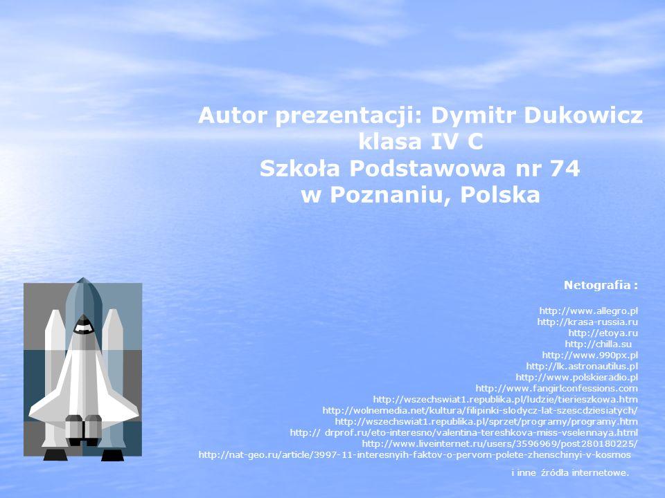 Autor prezentacji: Dymitr Dukowicz