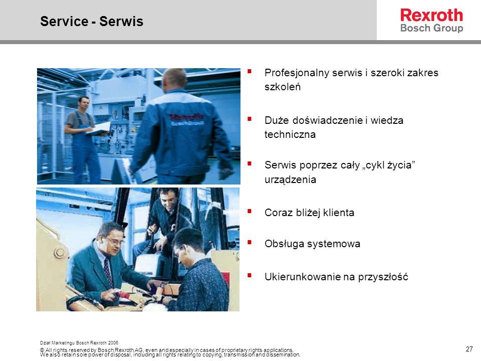 Service - Serwis Profesjonalny serwis i szeroki zakres szkoleń
