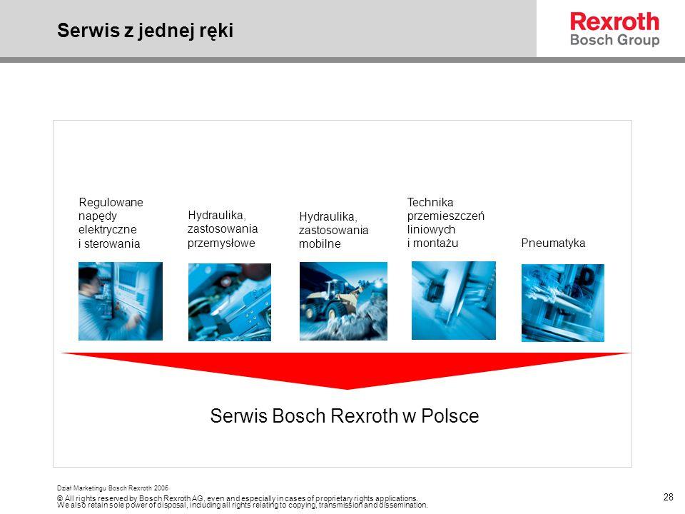 Serwis Bosch Rexroth w Polsce