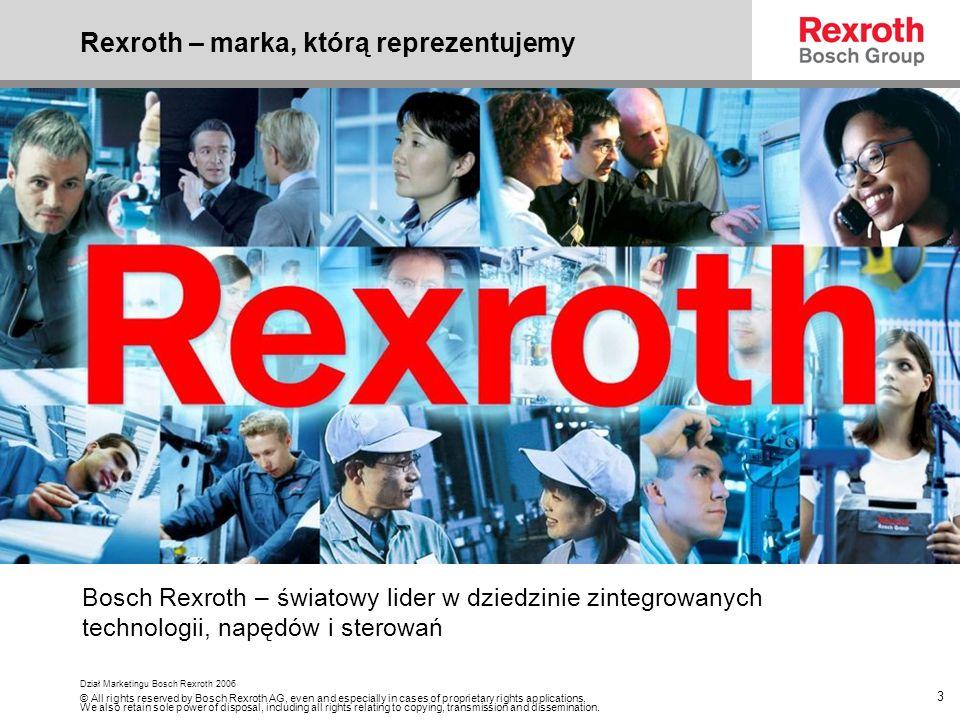 Rexroth – marka, którą reprezentujemy