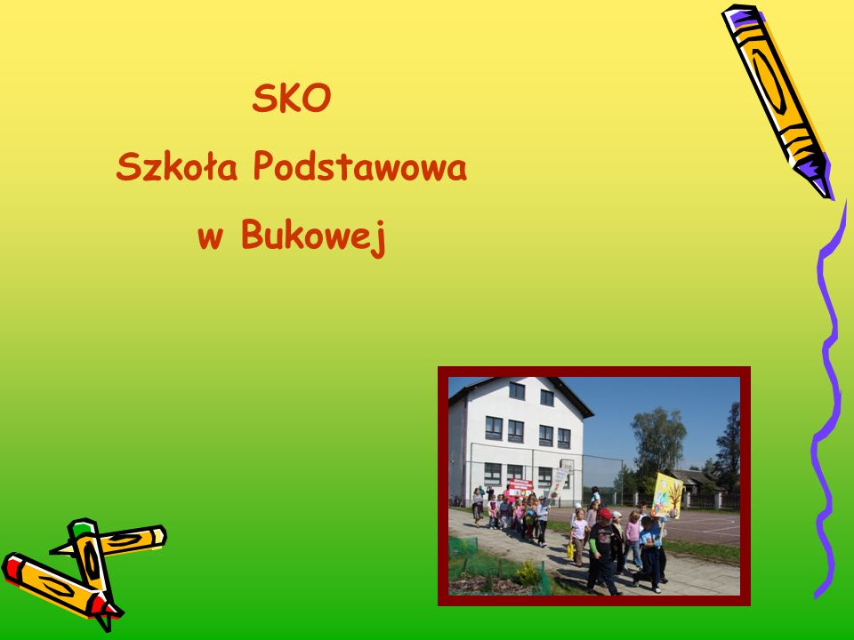 SKO Szkoła Podstawowa w Bukowej