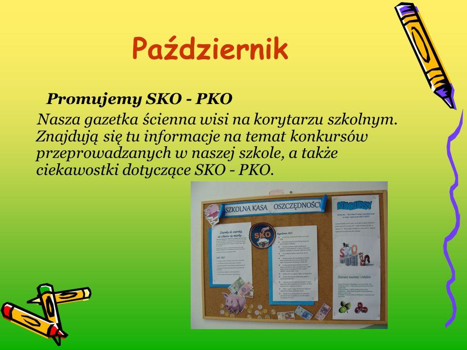 Październik Promujemy SKO - PKO