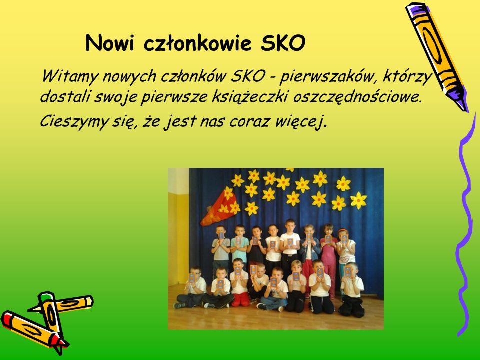 Nowi członkowie SKO
