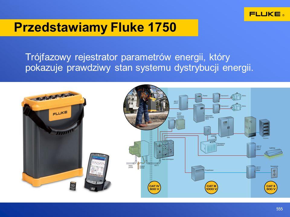Przedstawiamy Fluke 1750Trójfazowy rejestrator parametrów energii, który pokazuje prawdziwy stan systemu dystrybucji energii.