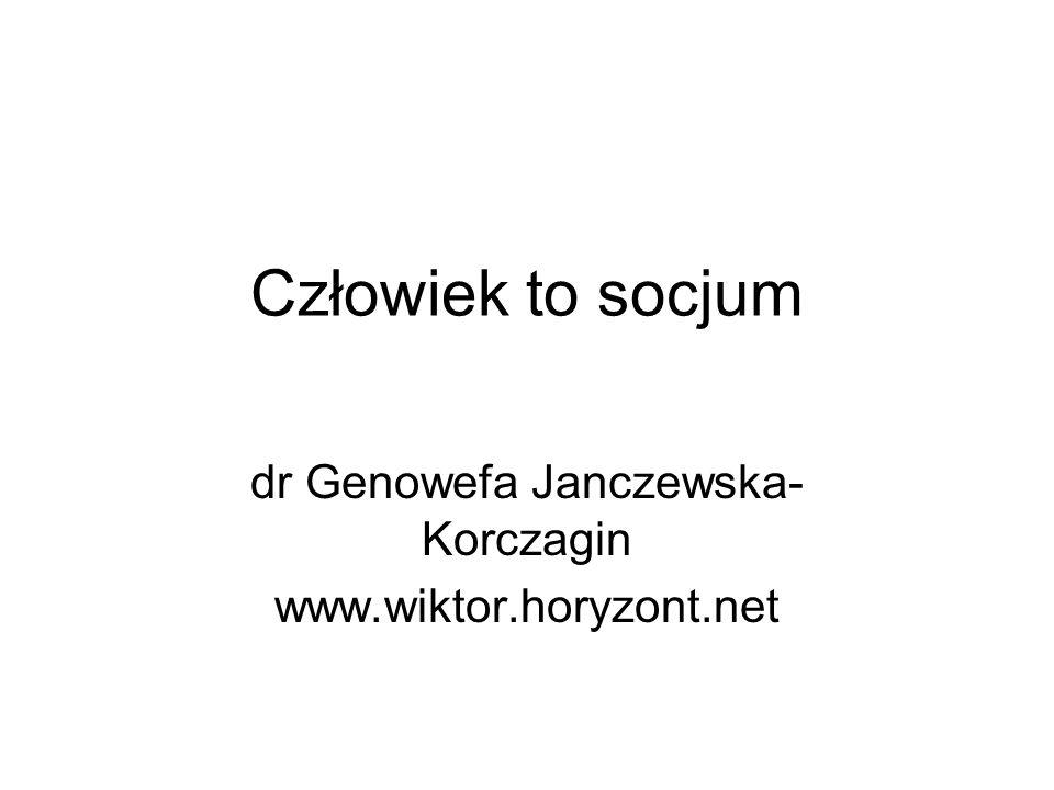 dr Genowefa Janczewska-Korczagin www.wiktor.horyzont.net