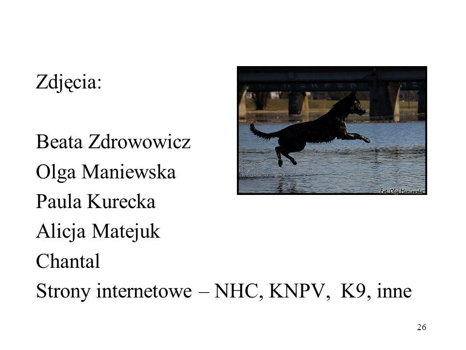 Zdjęcia:Beata Zdrowowicz.Olga Maniewska. Paula Kurecka.