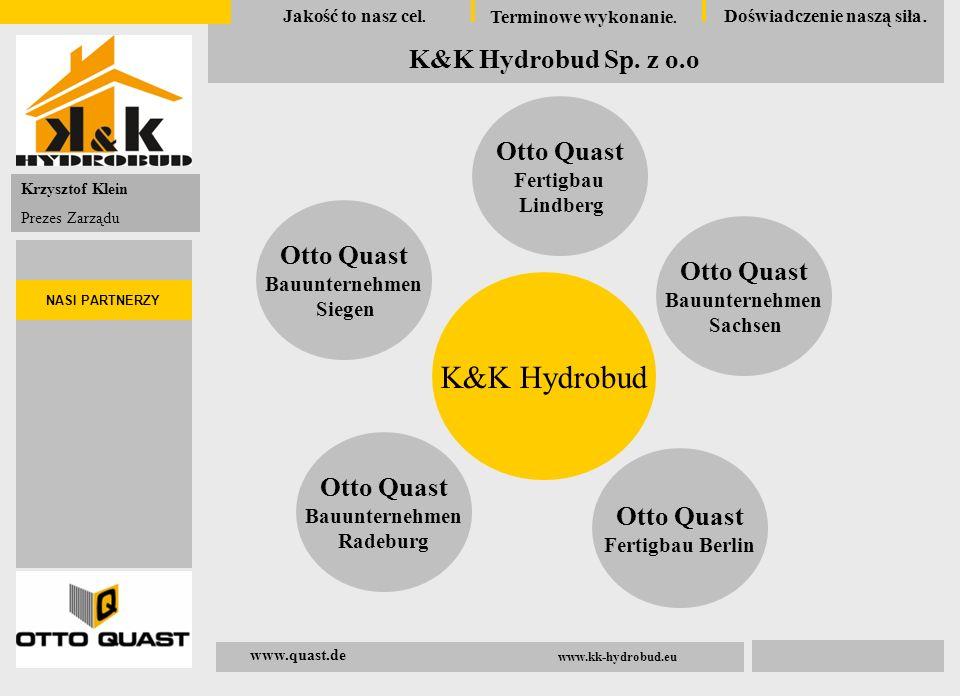 K&K Hydrobud Otto Quast Fertigbau Lindberg Bauunternehmen Siegen