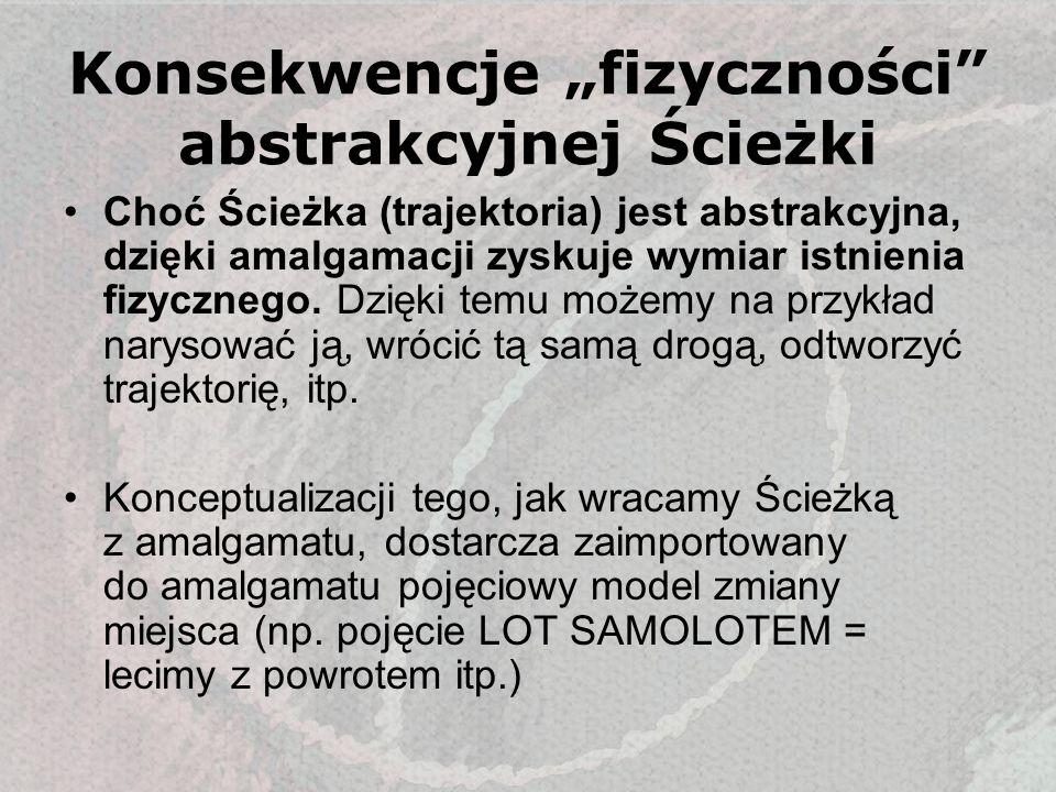 """Konsekwencje """"fizyczności abstrakcyjnej Ścieżki"""