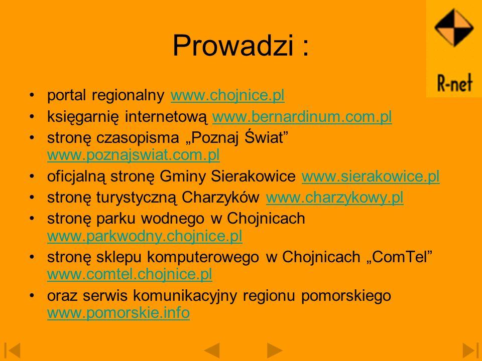 Prowadzi : portal regionalny www.chojnice.pl