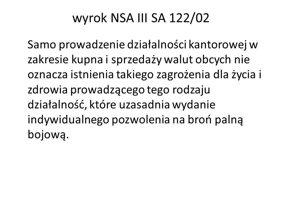 wyrok NSA III SA 122/02