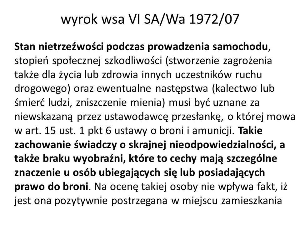 wyrok wsa VI SA/Wa 1972/07