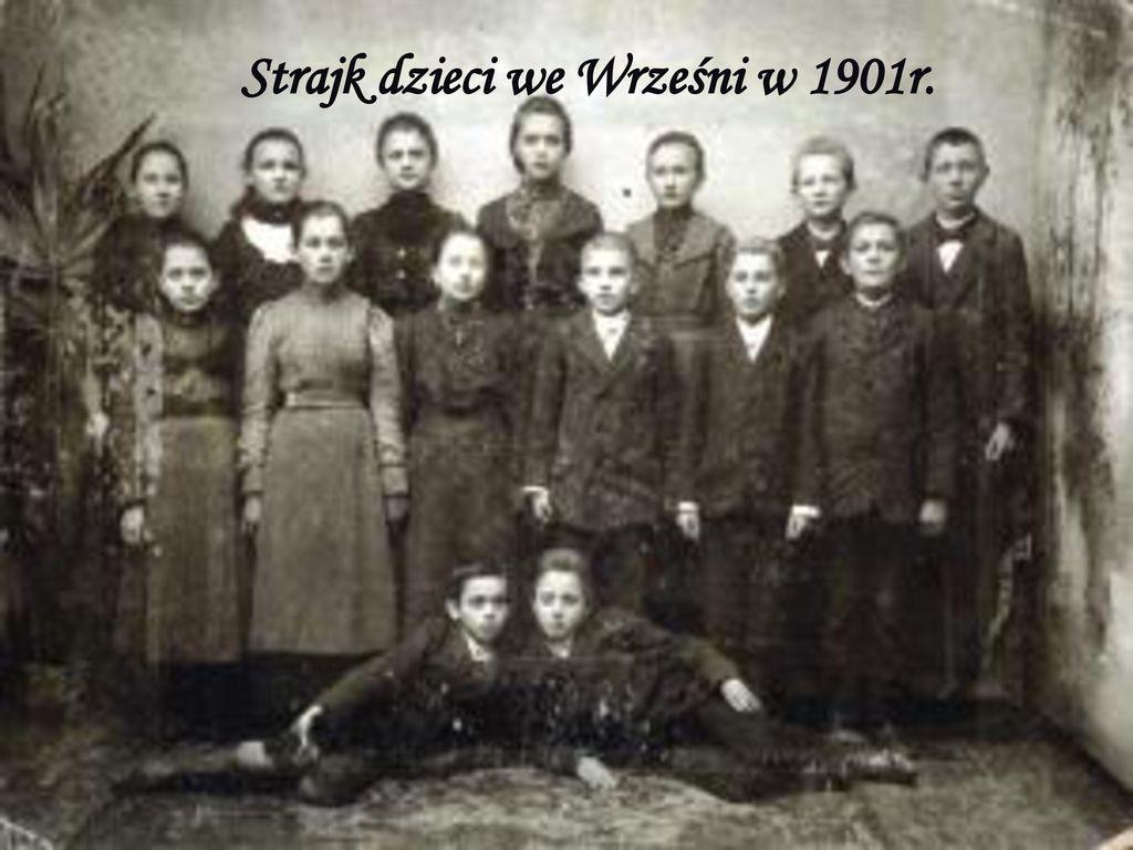 Strajk dzieci we Wrześni w 1901r.