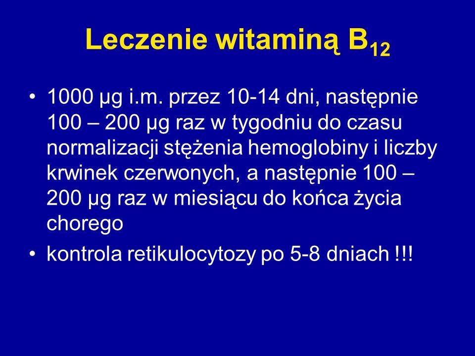 Leczenie witaminą B12